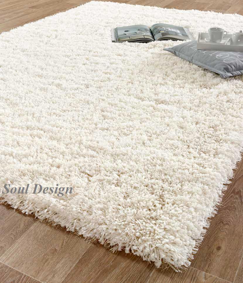 carpeta alfombra luxury 160 x 230 cm pelo largo soul design